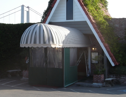 Canopy for Dead Fish Restaurant