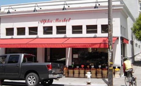 Retractable Awning for Alpha Market