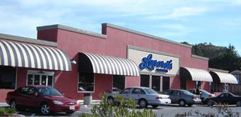 Traditional Awning for Lunardi's Market