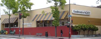 Traditional Awning for Andronico's Market