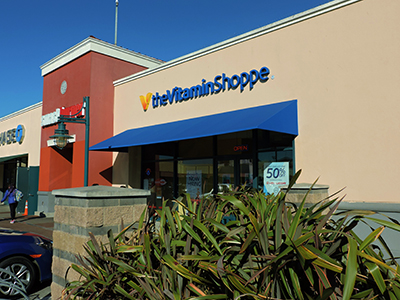 Traditional Awning for The Vitamin Shoppe