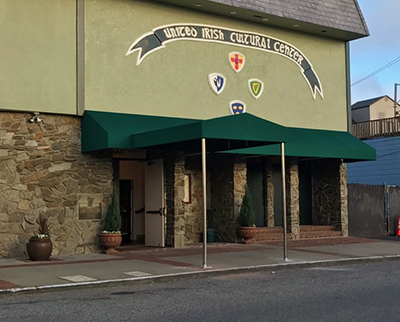 Canopy for United Irish Cultural Center