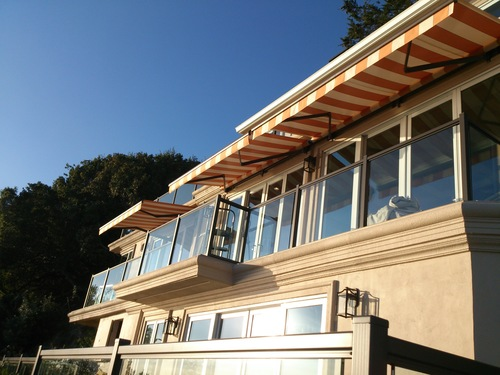 Retractable Awning for Sausalito Residential