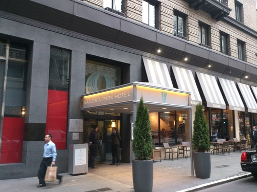 Traditional Awning for Galleria Park Hotel