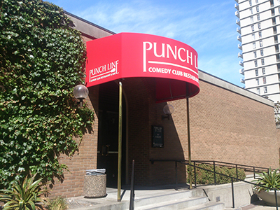 Canopy for Punchline Comedy Club