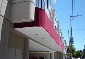 Traditional Awning for Marriott Fishermans Wharf
