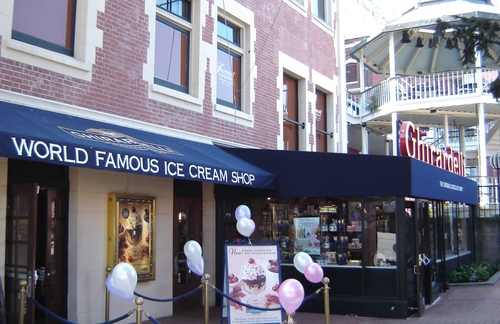 Traditional Awning for Ghirardelli Square