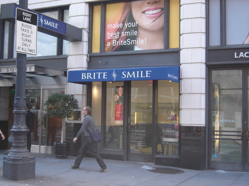 Traditional Awning for Brite Smile