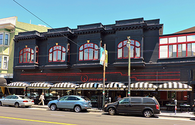 Traditional Awning for Calzones Restaurant