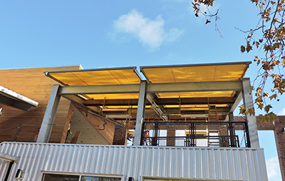 Retractable Awning for Whole Foods